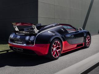 обои Bugatti Veyron Grand Sport Roadster Vitesse 2012 спойлер фото