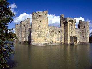 обои Bodiam Castle in Sussex фото