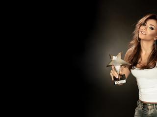 обои Анни лорак со звездой фото