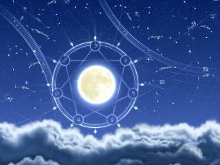 обои Астрологическая карта фото