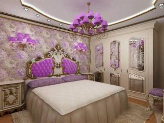 обои Интерьер спальни - Бригантина фото