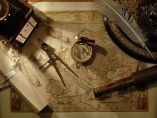 обои Инструменты капитана средневековья фото
