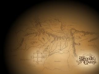 обои Карта горной местности фото