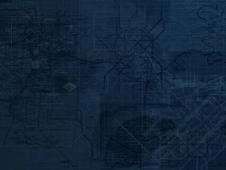 обои Карта городских коммуникаций фото