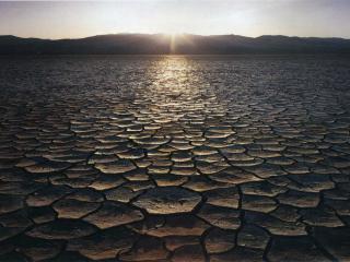 обои Сухое озеро фото