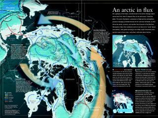 обои Карта земли и схема движения атмосферных фронтов фото