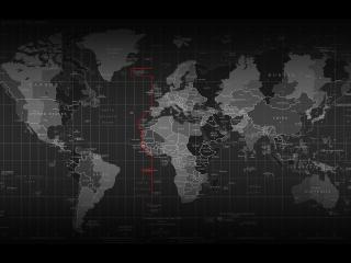 обои Карта земли со специфической разметкой фото