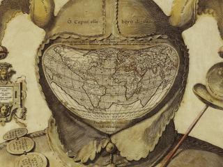 обои Карта оформленная под шута фото