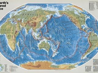 обои Карта с указаниями и описаниями фото