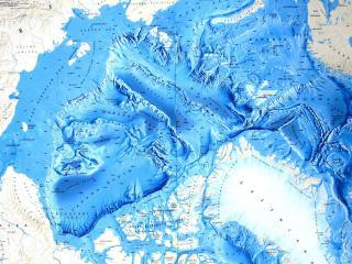 обои Карта севера фото