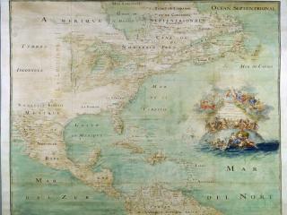 обои Карта северной Америки фото
