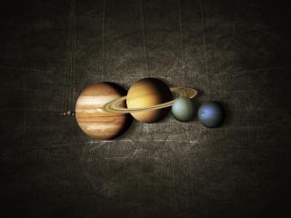 обои Парад планет фото