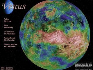 обои Планета венера и описание фото