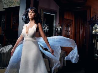 обои Jennifer Love Hewitt в воздушном платье фото