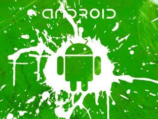 обои Android брызги фото