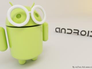 обои Android в очках фото
