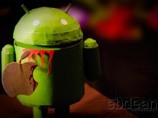 обои Android картонный фото