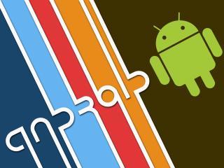 обои Android радуга фото