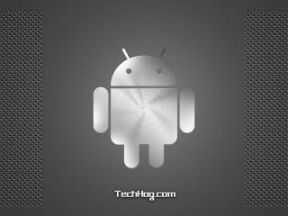 обои Android серебристый фото