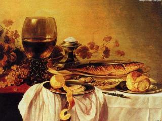 обои Питер Клаас - Завтрак фото