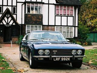 обои Jensen FF 1966 перед фото