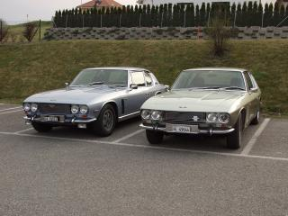 обои Jensen Interceptor 1966 стоянка фото