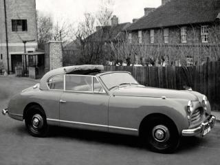 обои Jensen Interceptor Convertible 1950 бок фото