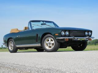 обои Jensen Interceptor III Convertible 1974 бок фото