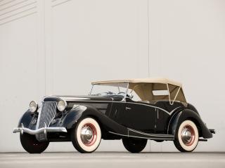 обои Jensen-Ford Tourer 1936 бок фото