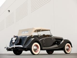 обои Jensen-Ford Tourer 1936 зад фото