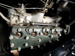 обои Jensen-Ford Tourer 1936 мотор фото