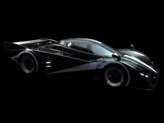 обои Barnard Supercar 2009 сбоку фото