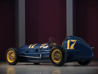 обои Bellanger Special Indy Roadster 1949 зад фото