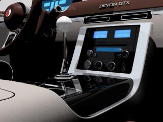 обои 2010 Devon GTX руль фото