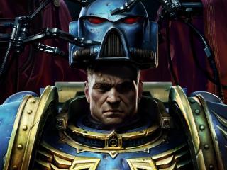 обои Warhammer 40000,   шлем солдата фото