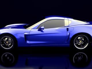 обои SV Motor SV 9 Competizione синяя фото