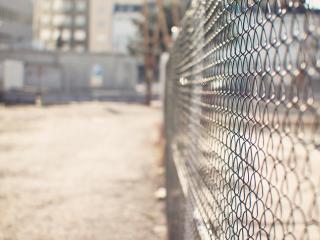 обои Ограда из сетки фото