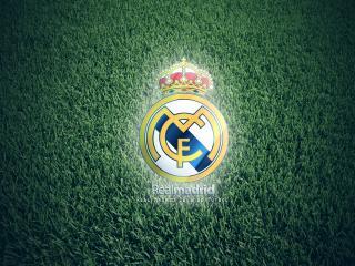обои Эмблема футбольного клуба Реал фото