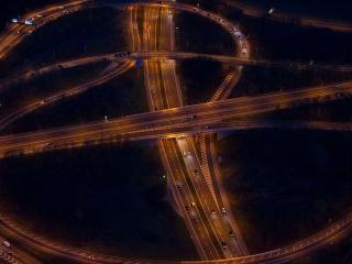 обои Зигзаги автострады фото