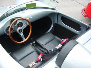 обои Vintage-Spyders 550 Spyder руль фото