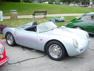 обои Vintage-Spyders 550 Spyder сбоку фото