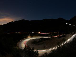 обои Ночная магистраль фото