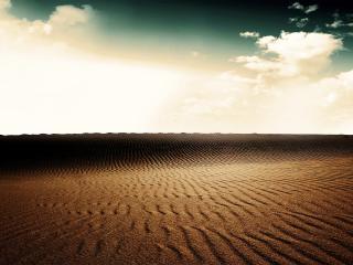 обои Росписи ветра на песке фото