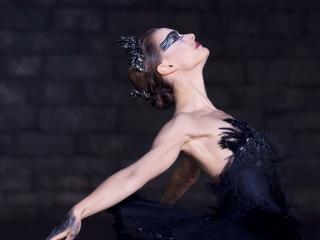 обои Балерина Черный Лебедь фото