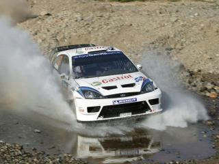 обои Ford focus rally фото