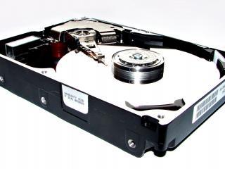 обои Жесткий диск компьютера в разобранном виде фото