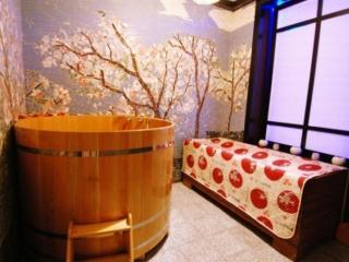 обои Японская баня фото