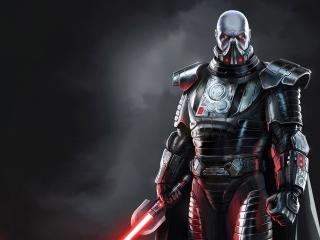 обои Star wars,   сит с мечом фото