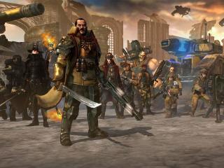 обои Warhammer 40,  000,   лорд-генерал фото