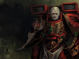 обои Warhammer воин в доспехах фото